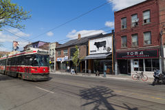 Drottninggata Toronto Royaltyfri Fotografi