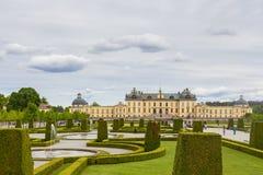 Drottninghlom-Palastansicht in die Stadt von Stockholm lizenzfreies stockfoto