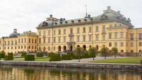 Drottninghlom-Palastansicht in die Stadt von Stockholm stockfotografie