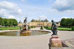 drottningholm公园斯德哥尔摩 图库摄影