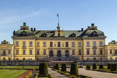 drottningholm宫殿斯德哥尔摩 库存图片