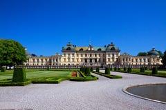 drottningholm宫殿斯德哥尔摩 免版税库存图片