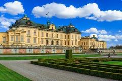 drottningholm宫殿瑞典 免版税库存照片
