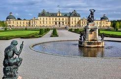 Drottningholm castle stock images