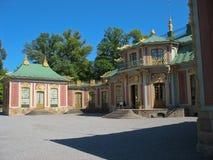 drottningholm chiński pavillon zdjęcia royalty free