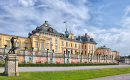 Drottningholm kasztel zdjęcie stock