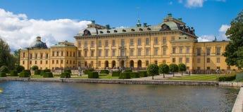 drottningholm pałac Stockholm obraz royalty free