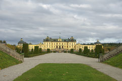 drottningholm pałac Stockholm Zdjęcia Royalty Free