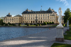 Drottningholm pałac Sztokholm Szwecja Fotografia Royalty Free