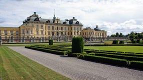 Drottningholm pałac blisko Sztokholm w Szwecja Obraz Stock