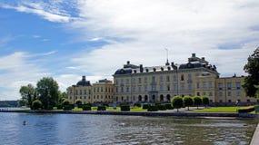 Drottningholm pałac blisko Sztokholm w Szwecja Fotografia Royalty Free