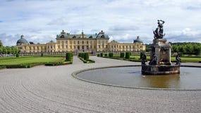 Drottningholm pałac blisko Sztokholm w Szwecja Zdjęcie Stock