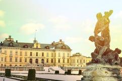 Drottningholm pa?ac ogr?dy przy Sztokholm, Szwecja - obrazy stock