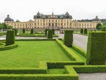 drottningholm pałac Stockholm Zdjęcia Stock