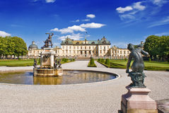 Drottningholm Palace. Royalty Free Stock Photos