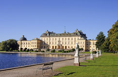 Drottningholm Palace Royalty Free Stock Photography