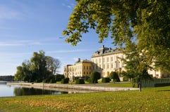 Drottningholm palace autumn Royalty Free Stock Photo