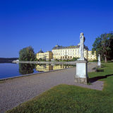 Drottningholm palace summertime Stock Images