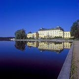 Drottningholm palace at Lake Mälaren Stock Photos