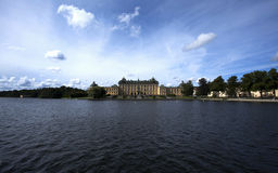 Drottningholm palace seen from the lake-Stockholm Royalty Free Stock Photos
