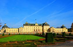 Drottningholm Palace Stockholm. Drottningholm Palace (Swedish: Drottningholms slott) is the private residence of the Swedish royal family. It is located in stock images