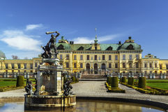 Drottningholm Palace, Stockholm Stock Image