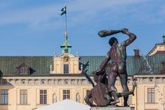 Drottningholm Palace Stockholm Sweden Stock Photography