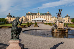 Drottningholm Palace Stockholm Sweden Royalty Free Stock Photography