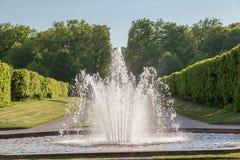 Drottningholm Palace Stockholm Sweden Gardens Stock Photo