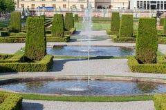 Drottningholm Palace Stockholm Sweden Gardens Royalty Free Stock Image
