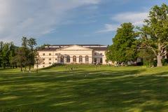 Drottningholm Palace Stockholm Sweden Gardens Stock Image