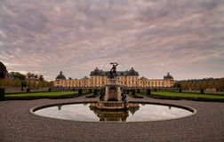 Drottningholm Palace, Stockholm, Sweden. The private residence of the Swedish royal family, located in Drottningholm near Stockholm. It is built on the island stock photos