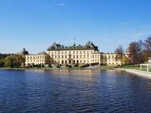 Drottningholm Palace in Stockholm, Sweden Stock Photos