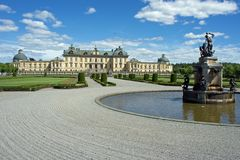 Drottningholm Palace in Sweden stock photos