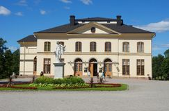 Drottningholm Palace in Sweden royalty free stock images