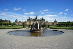 Drottningholm-Palast in Schweden lizenzfreie stockbilder