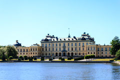 Drottningholm Royal castle Royalty Free Stock Image