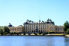 Drottningholm Royal castle Royalty Free Stock Image