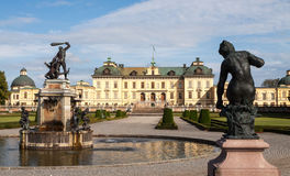 Drottningholm Royal Palace in Sweden Royalty Free Stock Photos