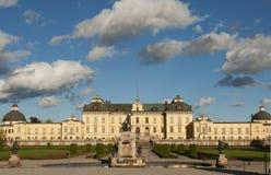 Drottningholm slott (den kungliga slotten) förutom Sto Arkivfoton