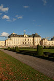 Drottningholm slott (königlicher Palast) außerhalb Sto Stockbild