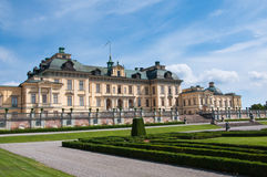 Drottningholm slott, Stockholm, Sverige Royaltyfria Foton