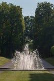 Drottningholm slottStockholm Sverige trädgårdar Arkivbild