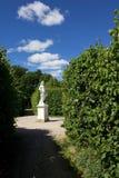 Drottningholm slottträdgårdar Arkivbild