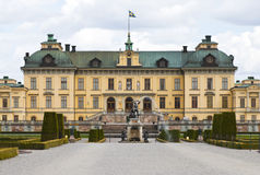 Drottningholm, Sweden: Royal Family's permanent residence Stock Photography