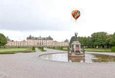 Drottningholms Palace in the Stockholm city Stock Images