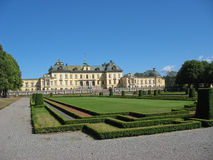 Drottningholms Schloss (Schweden, Stockholm) Stockfoto