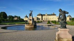 drottningholmslott stockholm stock video