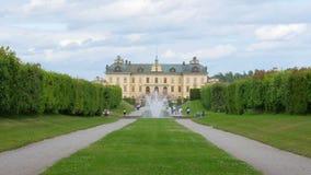 drottningholmslott, stockholm, Sverige, timelapse, 4k stock video