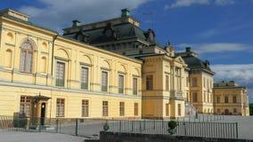 drottningholmslott, stockholm, Sverige, timelapse, 4k lager videofilmer